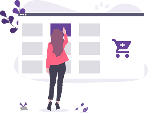 How to start a fashion eCommerce business graphic element